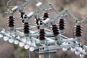 Elektrické rozvody silného proudu.